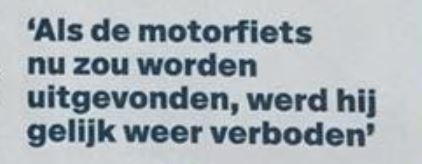 Motorrijders massaal boos op Autoweek en op Nic de Boer in het bijzonder